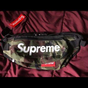 Supreme camouflage shoulder/waist bag
